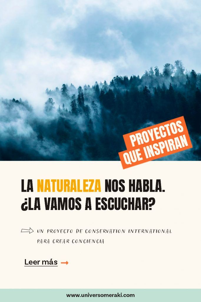 La naturaleza nos habla, conservation international