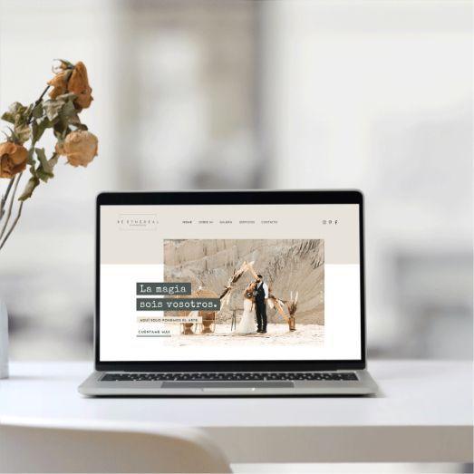Be Ethereal - Diseño web